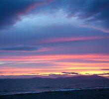 A Beautiful Allonby Sunset by Jan Fialkowski