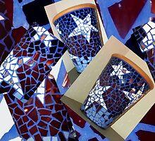 Mosaic pots by Susan100