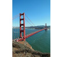Golden Gate Bridge Photographic Print