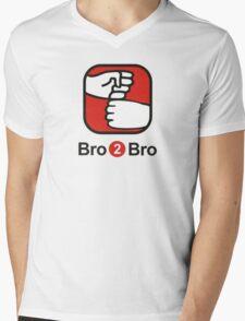 Bro 2 Bro Mens V-Neck T-Shirt