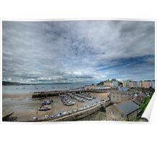 Tenby Harbour Pembrokeshire 18 Poster
