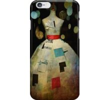 Forget Me Not Paper Dress Case iPhone Case/Skin