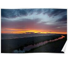 The Purple Stream at Allonby 2 Poster