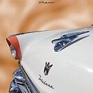 All That  Glitters - 1956 Ford Fairlane Victoria by Betty Northcutt