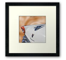 All That  Glitters - 1956 Ford Fairlane Victoria Framed Print