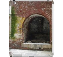 Alcatraz Fireplace iPad Case/Skin