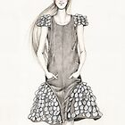 Chanel Spring 2012 Illustration by Anoma Natasha Paleebut