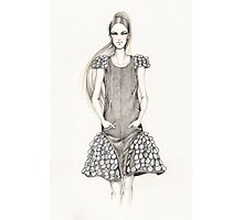 Chanel Spring 2012 Illustration Photographic Print