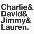 Charlie David Jimmy Lauren by someassembly