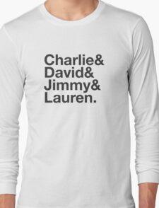 Charlie David Jimmy Lauren Long Sleeve T-Shirt