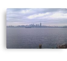 Alki Beach, Wa Canvas Print