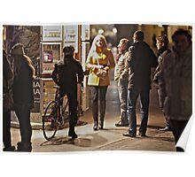 Szewska Street . My Krakówy  . November night (22-11-2011) by Brown Sugar . Vieww (65) thx! Poster