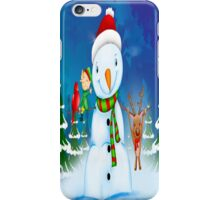 Snowman Iphone Skin iPhone Case/Skin