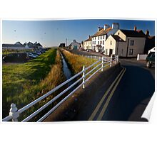 Allonby, Looking North Towards Silloth Poster