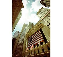 Wall Street Photographic Print