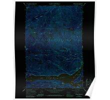 USGS Topo Map Washington State WA Rimrock Lake 243461 1967 24000 Inverted Poster