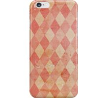 Harlequin - Vintage iPhone Case/Skin