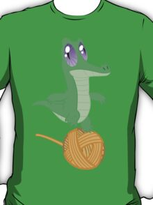 Fluttershy's Pet Alligator, Gummy! T-Shirt