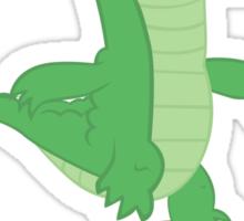 Fluttershy's Pet Alligator, Gummy! Sticker