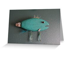 Keychain Fish 6 of 14 (SOLD) Greeting Card