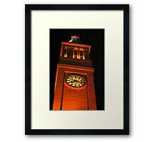 The City Hall Clock Framed Print