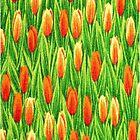 Tulip iPhone 4/4S Case by purplesensation