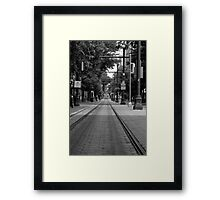 Memphis Trolley  Framed Print