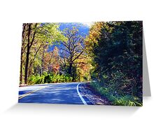 Autumn Country Greeting Card