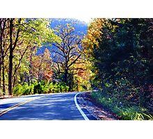 Autumn Country Photographic Print