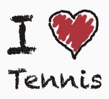 I love tennis by Lorie Warren