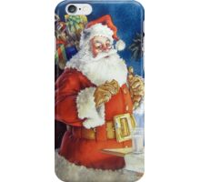 Santa iPhone 4/4S Skin iPhone Case/Skin