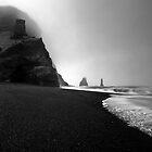 Reynisfjara Beach and the Trolls by Roddy Atkinson