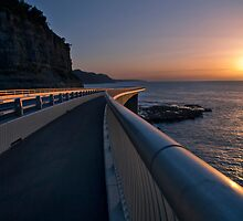 Seacliff Bridge at dawn, Thirroul NSW Australia by jphenfrey