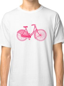Ladies Vintage bicycle Classic T-Shirt