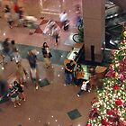 Singapore - Christmas frenzy by Maureen Keogh