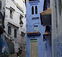 Chefchaouen Blue II by Camilla