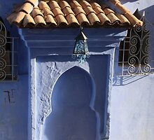 Chefchaouen Blue Arch by Camilla