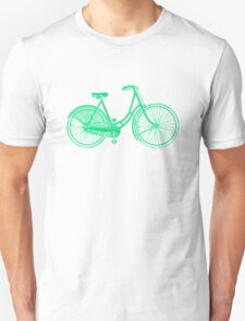Ladies Vintage bicycle #2 Unisex T-Shirt