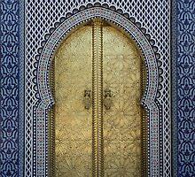 Fes Palace Door by Camilla