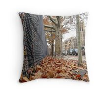 Squirrel's view, Bronx - New York City  Throw Pillow