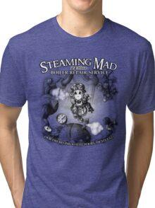 Steaming Mad Boiler Repair Tri-blend T-Shirt