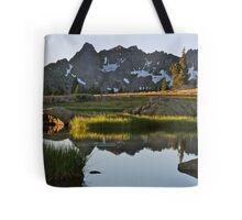 August - Gore Range lake Tote Bag