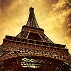 Eiffel Tower. by Lyn Darlington