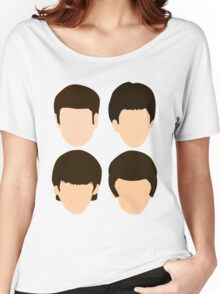 The Beatles - Minimalistic Women's Relaxed Fit T-Shirt