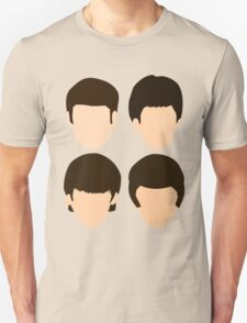 The Beatles - Minimalistic Unisex T-Shirt