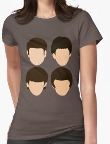 The Beatles - Minimalistic Womens Fitted T-Shirt