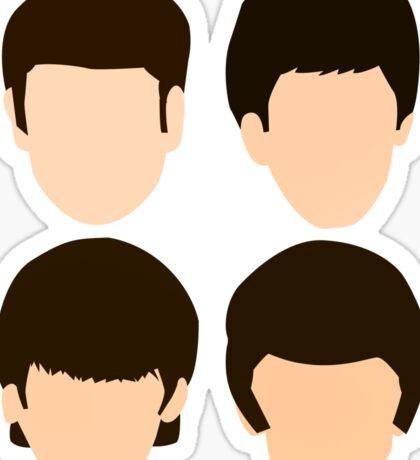 The Beatles - Minimalistic Sticker