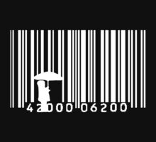Umbrella Barcode (White) by ceejsterrr