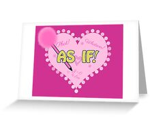 Class Notes Greeting Card