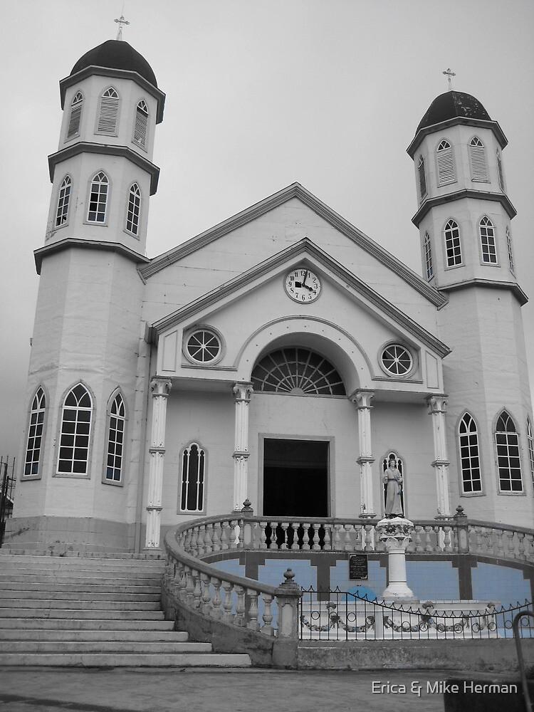 Zarcero's San Rafael Church by Erica & Mike Herman
